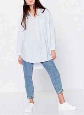 Camisa oversized Pull&Bear