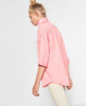 Camisa oversized Zara