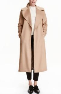 Abrigo largo de H&M