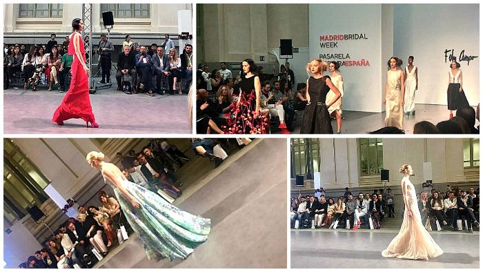 Madrid Bridal Week moda para novias yfiesta