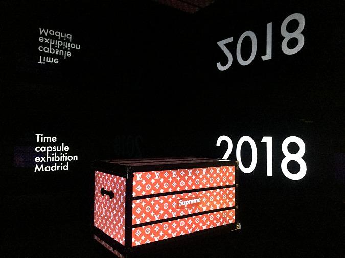 Exposición Time Capsule de Louis Vuitton, un viaje en eltiempo