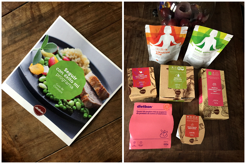 Mi experiencia con el nuevo concepto de comida de dietaDietbon